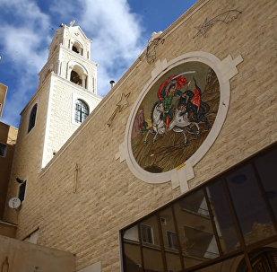 V syrském městě Malúla oslavili Vánoce v chrámu dříve obsazeném teroristy