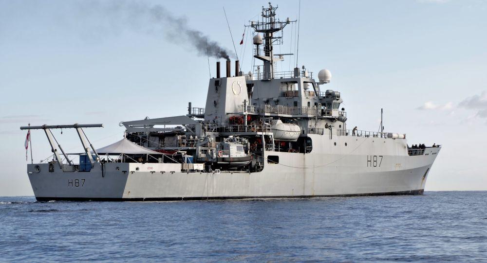 Britská průzkumná loď HMS Echo H87