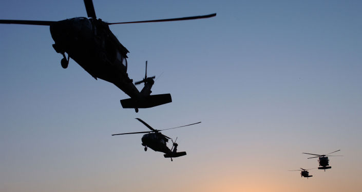 Americké vrtulníky UH-60 Black Hawk