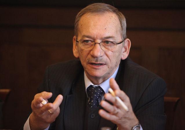 Předseda Senátu ČR Jaroslav Kubera