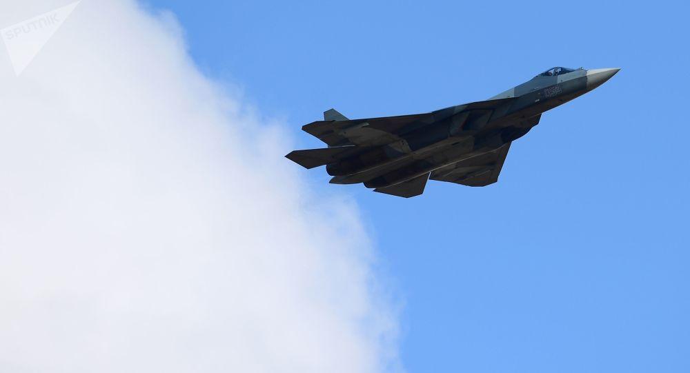 stíhačka páté generace Su-57