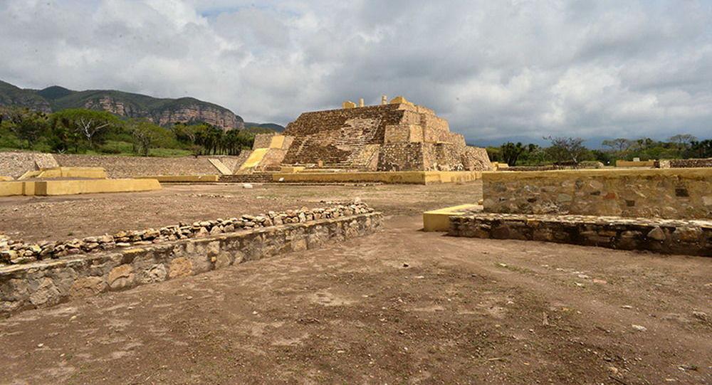 Chrám starodávného boha z prehispánského období