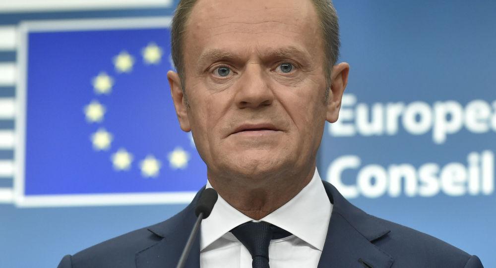 předseda Evropské rady Donald Tusk
