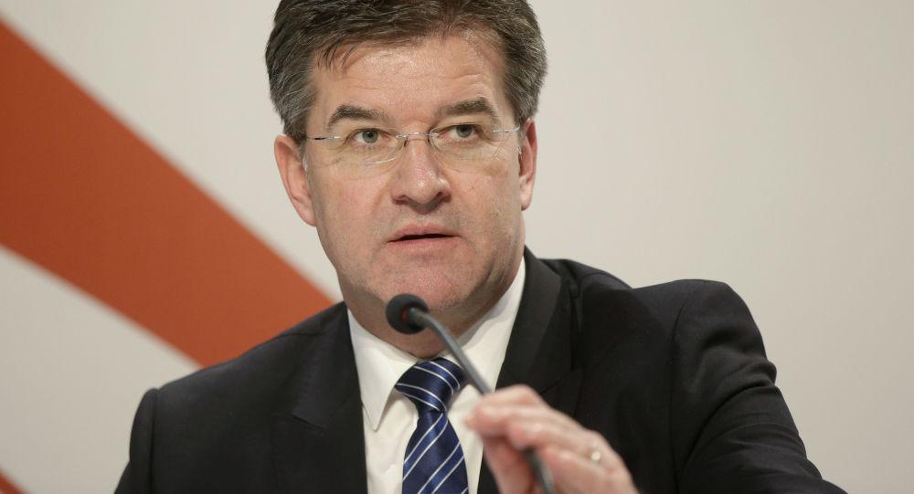 Ministr zahraničí Slovenska Miroslav Lajčák