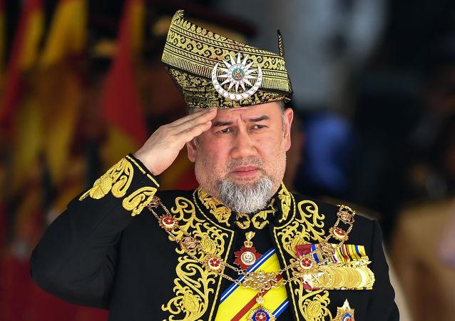 Malajský král Muhammad V.