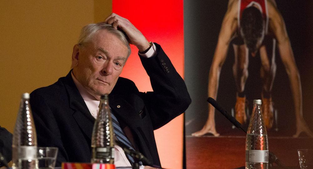 Bývalá hlava Světové protidopingové agentury (WADA) Richard Pound