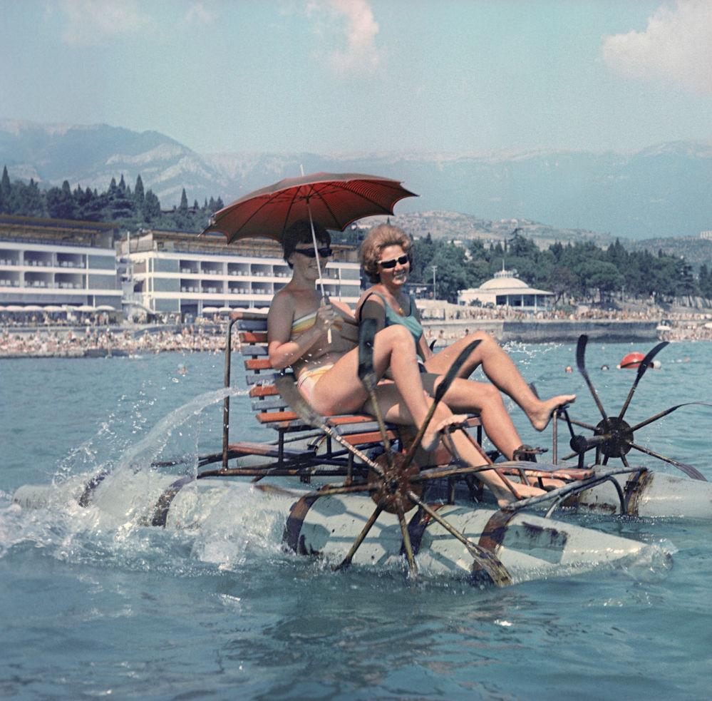 Sovětská plážová móda