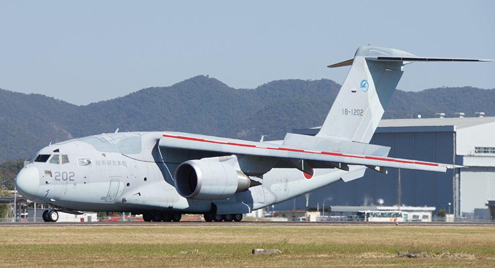 Vojenské dopravní  letadlo Kawasaki C-2