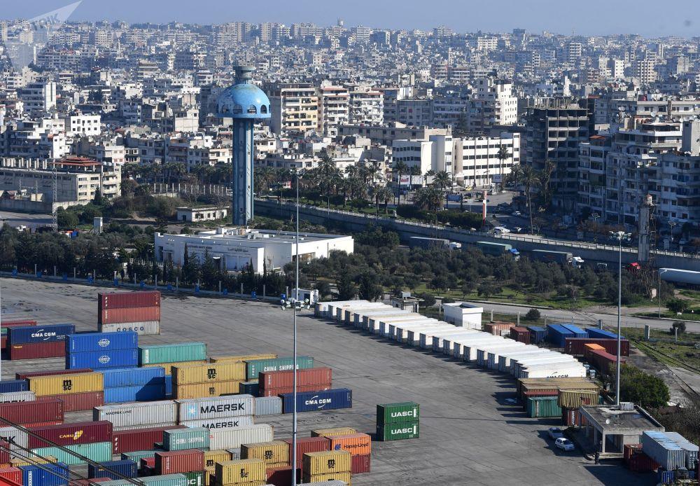 Nejdůležitější přístav Sýrie Latákie