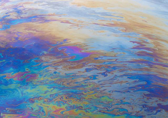 Ropná skvrna. Ilustrační foto