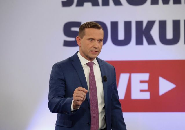 Телеведущий и владелец TV Barrandov Яромир Соукуп
