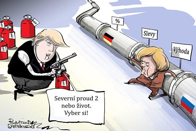Plynový loupežník Trump