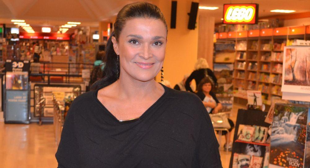 Česká herečka Mahulena Bočanová
