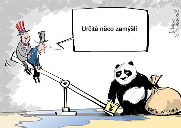 Chytrá čínská Panda