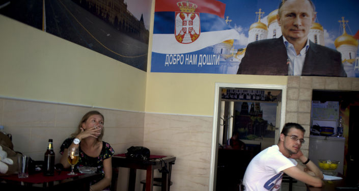 Kavárna v Srbsku