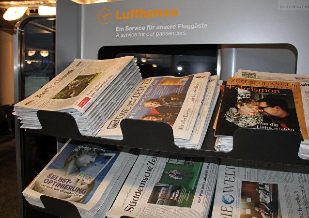 Německé noviny
