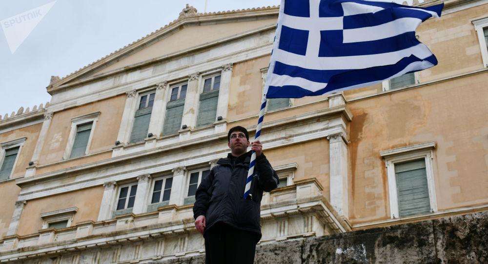 Budova řeckého parlamentu