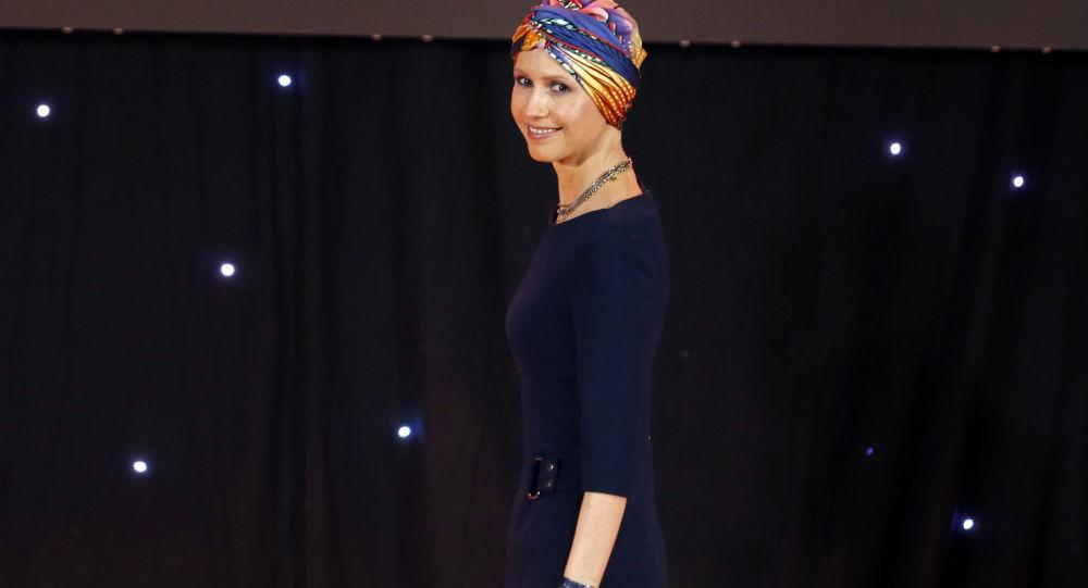 Asma Asadová manželka Bašára Asada, syrského prezidenta