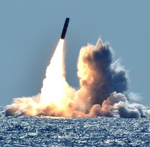 Odpálení americké balistické rakety Trident II D5