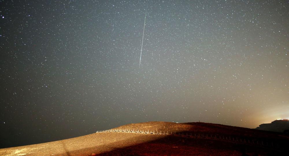 Meteorický roj Perseidy pozorovaný v Izraeli