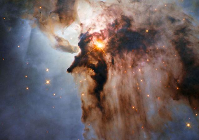 Mlhovina Laguny. Snímek vesmírného teleskopu Hubble.