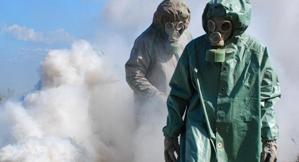 Cvičení chemického útoku
