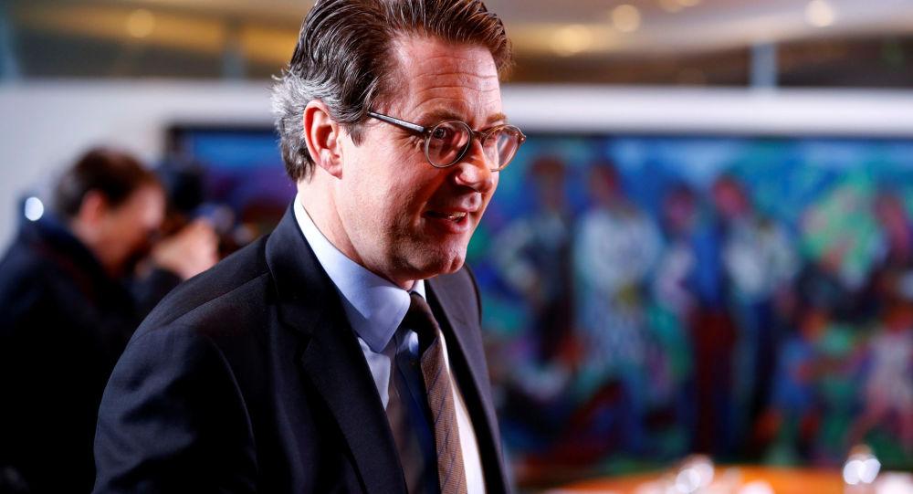 Ministr dopravy Andreas Scheuer