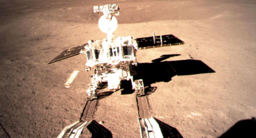 Lunochod Yutu 2 kosmické mise Čchang-e 4