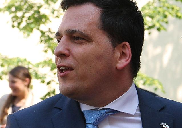 Europoslanec KDU-ČSL Tomáš Zdechovský