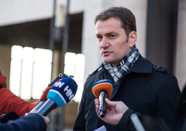 Slovenský politik Igor Matovič