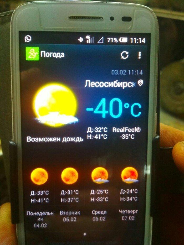Telefon vytvořil neuvěřitelnou předpověď počasí