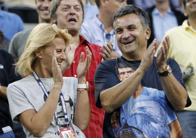 Srdan a Diana Djokovič, rodiče Novaka Djokoviče
