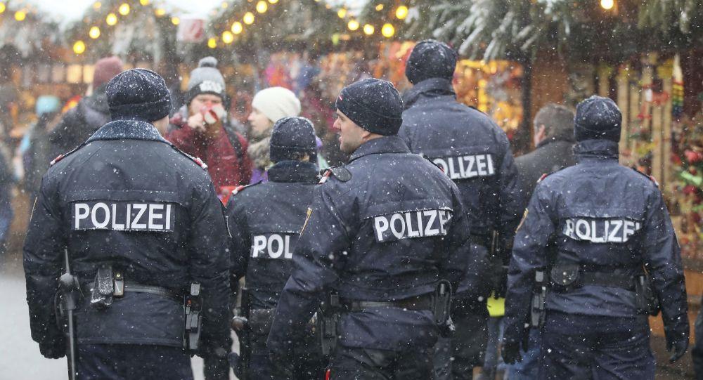 Rakouská policejní hlídka