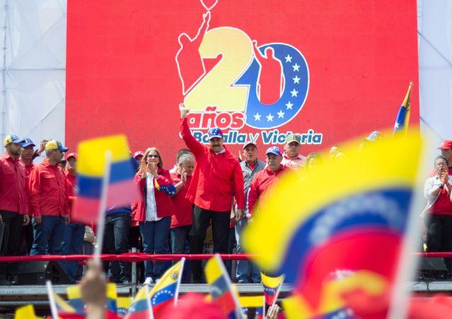 Venezuelský prezident Nikolás Maduro