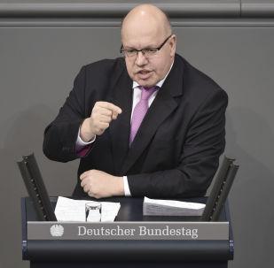 Ministr hospodářství SRN Peter Altmeier