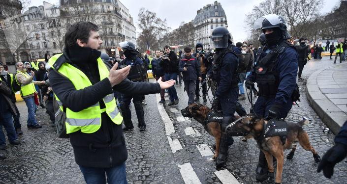 Protesty žlutých vest