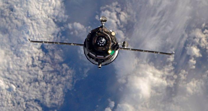 Vesmírná nákladní loď Progress MS-07