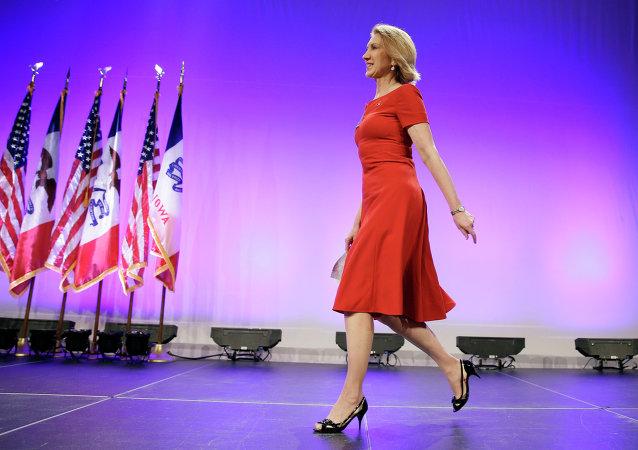 Kandidátka na prezidenta USA Carly Fiorinová