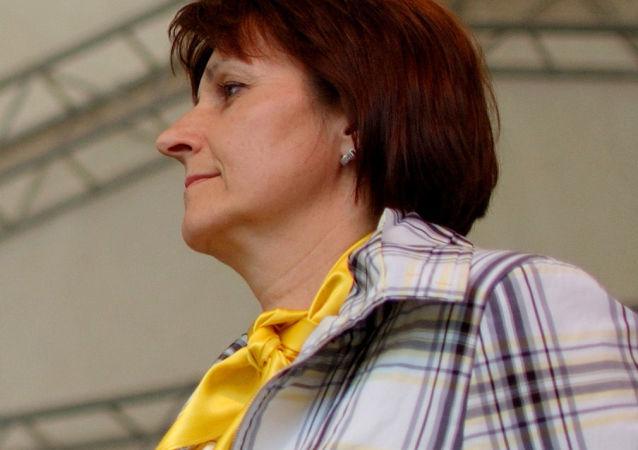 První místopředsedkyně KDU-ČSL Michaela Šojdrová v období při volbách do Poslanecké sněmovny Parlamentu ČR 2010
