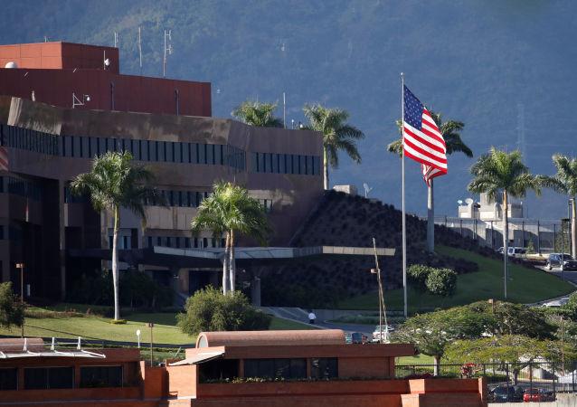 Budova americké ambasády v Caracase