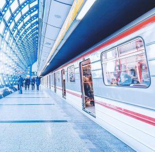 Pražské metro. Ilustrační foto
