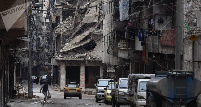 Syrské město Aleppo, ilustrační foto