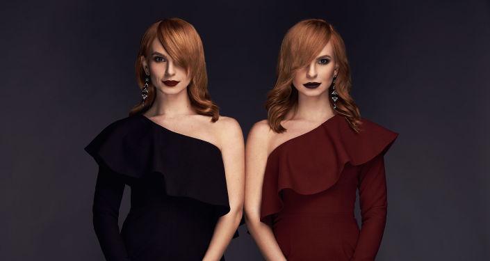 Finalistky ukrajinského výběru zástupce pro Eurovision 2019 Anna a Maria Opanasjukovi