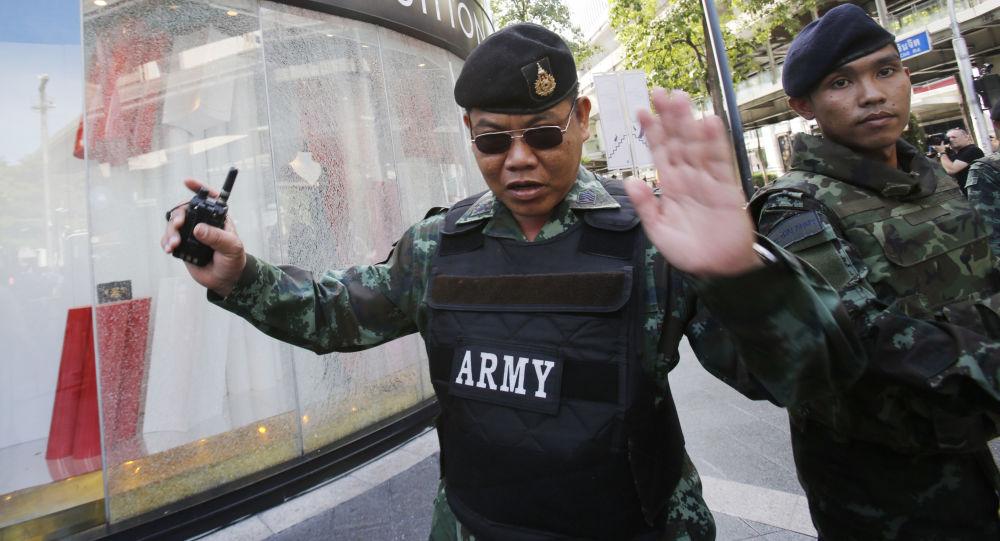 Výbuch v Bangkoku