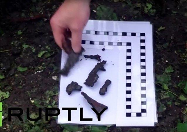 Pozorovatelé OBSE prozkoumali úlomky střel v Doněcku