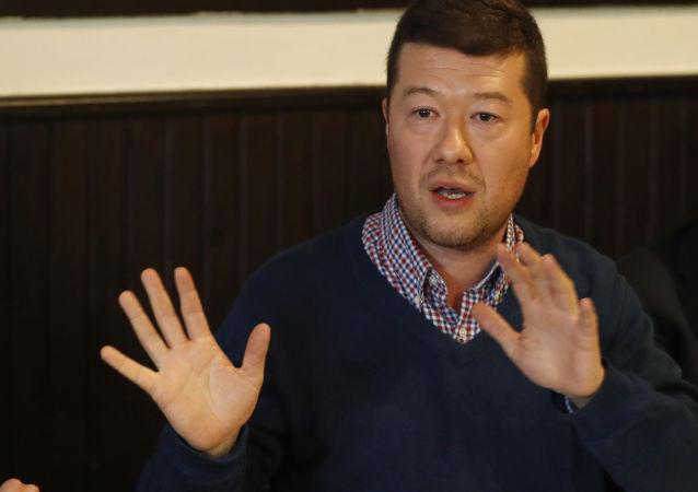 Český politik Tomio Okamura