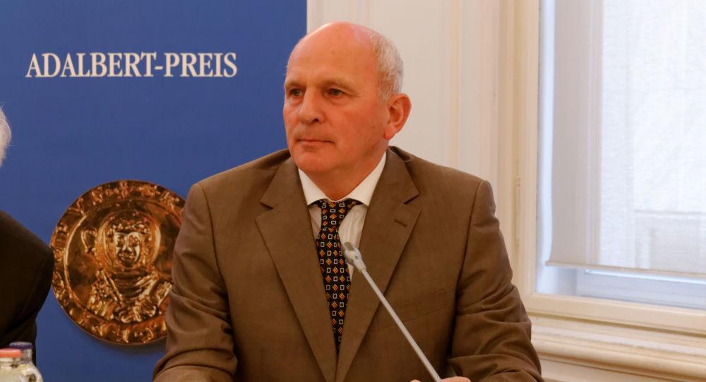 Kandidát na prezidenta Slovenska František Mikloško