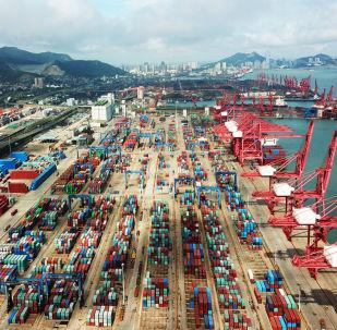 Kontejnery v Ťiang-su