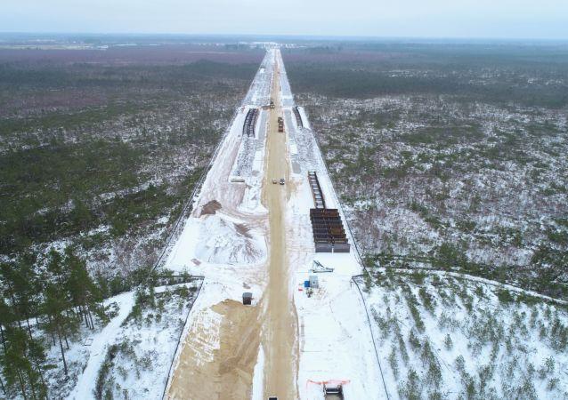 Výstavba Severního proudu 2