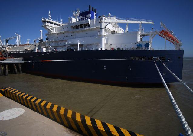 Tanker na zkapalněný plyn Vladimir Rusanov